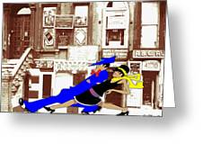 Harlem Strut Greeting Card