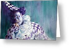 Harlequin I Greeting Card