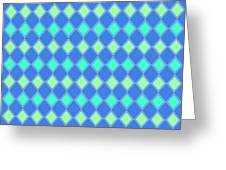 Harlequin Minty Fresh Greeting Card