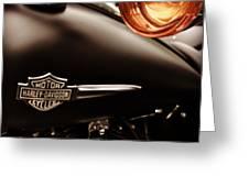 Harley Greeting Card