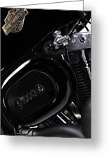 Harley Davidson 1000 Greeting Card