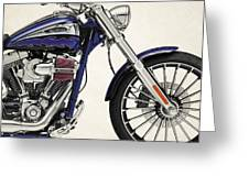 Harley Davidson Breakout Cvo 2014a Metal Print By