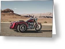 Harley-davidson Freewheeler Greeting Card