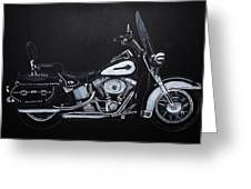 Harley Davidson Snap-on Greeting Card