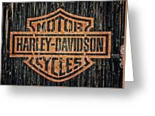 Harley - Davidson Greeting Card