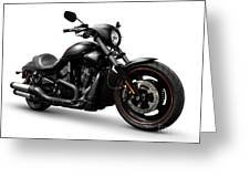 Harley Davidson Vrscd Night Rod Special  Greeting Card by Oleksiy Maksymenko