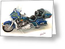 Harley Electraglyde Greeting Card