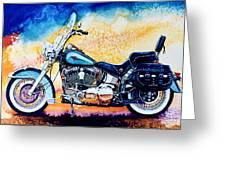 Harley Hog I Greeting Card