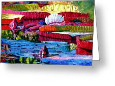 Harmony Of Color And Light Greeting Card