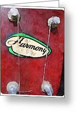 Harmony Uke Greeting Card