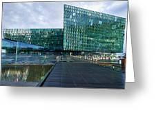 Harpa Concert Hall - Iceland Greeting Card