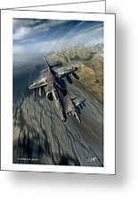 Harrier Element Greeting Card
