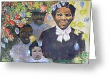 Harriet Tubman- Tears Of Joy Tears Of Sorrow Greeting Card