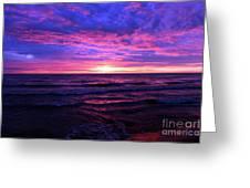 Harrington Beach Sunrise 3 Greeting Card