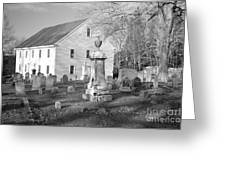 Harrington Meetinghouse -bristol Me Usa Greeting Card