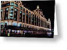 Harrods In London Greeting Card