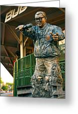 Harry Caray Greeting Card