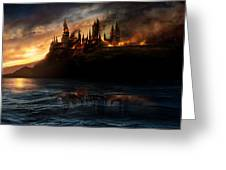 Harry Potter And The Deathly Hallows Part I 2010  Greeting Card