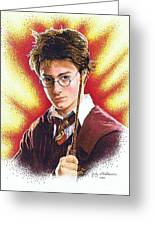 Harry Potter The Wizard Greeting Card