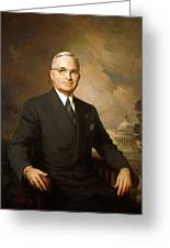 Harry Truman Greeting Card