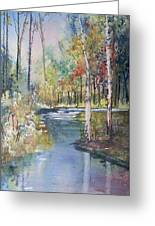 Hartman Creek Birches Greeting Card