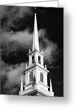 Harvard Memorial Church Steeple Greeting Card