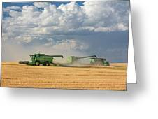 Harvest Clouds Greeting Card