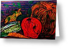 Harvest Greeting Card by Jeanette Stewart