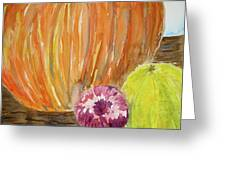 Harvest Still Life Greeting Card
