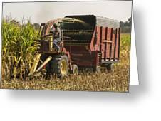 Harvesting Greeting Card