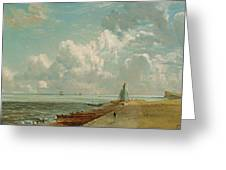 Harwich - The Low Lighthouse And Beacon Hill Greeting Card