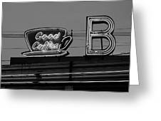 Hasbrouck Heights, Nj - Bendix Diner Greeting Card