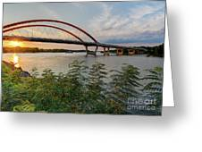 Hastings Mn Bridge Greeting Card
