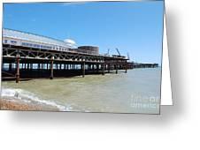 Hastings Pier, East Sussex Greeting Card