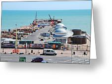 Hastings Pier Rebuild Greeting Card