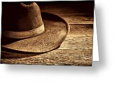 Hat Greeting Card