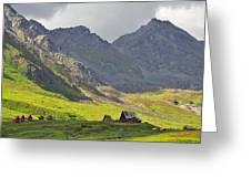 Hatcher's Pass Alaska Greeting Card