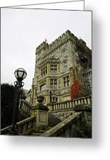 Hatley Castle Greeting Card