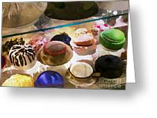 Hats In A Row Greeting Card