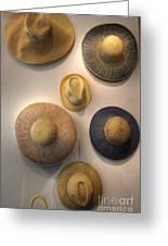 Hats Greeting Card