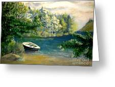 Hatzec Lake Greeting Card
