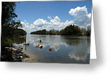 Haulover Canal On The Space Coast Of Florida Greeting Card