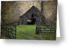 Haunted Barn Greeting Card