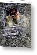 Haunted Impressions Greeting Card