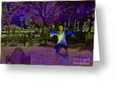 Haunted Night Greeting Card