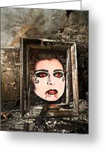 Haunted Picture Greeting Card