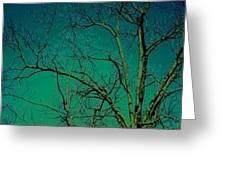Haunting Tree  Greeting Card