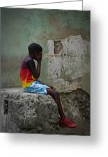 Havana Boy Greeting Card