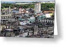Havana Cityscape Greeting Card