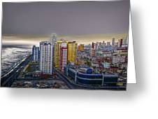 Havana Dawn Greeting Card